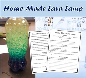 Fun Science Experiment (Home Made Lava Lamp)