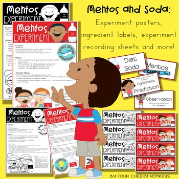 Fun Science Experiments // Mentos and Soda / Coke  Experiment