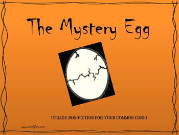 Fun Science Research- The Mystery Egg!