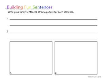 Fun Sentence Builder