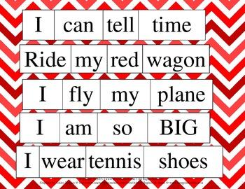 Fun Sentence Building {Common Core Aligned}