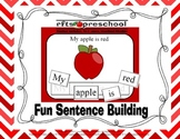 Fun Sentence Building {Common Core Aligned}