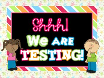 Fun Shhhh! Testing Screen Saver Display *Back to School
