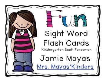 Fun Sight Word Flash Cards