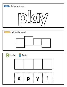 Fun Sight Word Practice {Kindergarten}