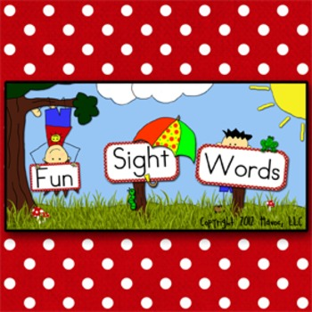 Fun Sight Words