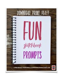 Fun Sketchbook Prompts (Free!)