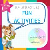 Fun Sorting & Categorizing Activities - ELA 1.5