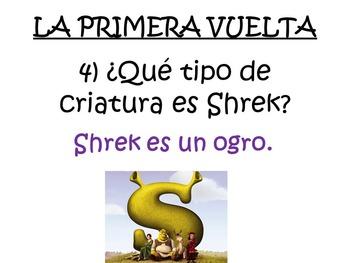 Fun Spanish Movie Scenes Electronic Game - Shrek
