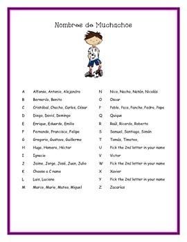 Fun Spanish Name Generator, Nombres y Apodos