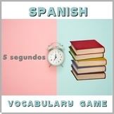 Fun Spanish Vocabulary Game - Distance Learning