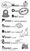 Fun Spanish YO GO Poster - Verbos Irregulares en la forma