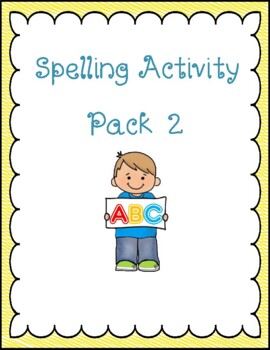 Fun Spelling Activities and Worksheets