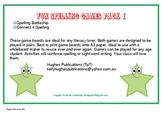 Fun Spelling Games Pack 1