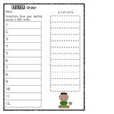 *Fun* Spelling Practice Worksheets