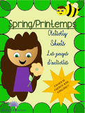 Fun Spring Activities! FRENCH and ENGLISH