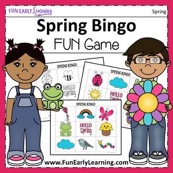 Fun Spring Bingo Game