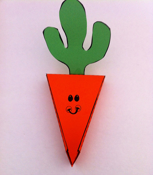 Fun Spring Carrot Box Craft for Kids