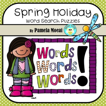 Spring Holiday Word Searches