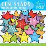 Fun Stars Clipart Set