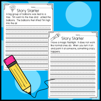 Fun Story Starters/ Writing Prompts!