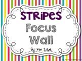 Fun Stripes Focus Wall {White}