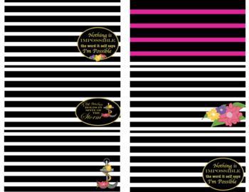 Fun Stripes Digital Paper