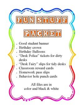 Fun Stuff for Any Grade!