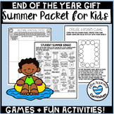 Summer Packet for 4th 5th to 6th Grade