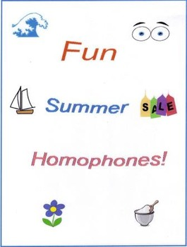 Fun Summer Homophones