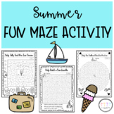 Fun Summer Mazes I No Prep End of the Year Activity