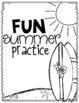Fun Summer Practice {sample freebie}