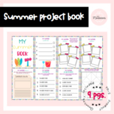 Fun Summer Project Book   Distance learning