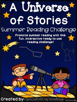 Summer Reading Challenge - Stargazing Theme