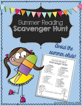 Fun Summer Reading Scavenger Hunt