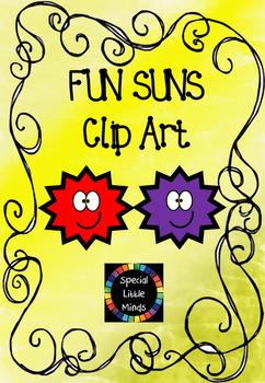 Fun Sun Clip Art