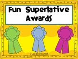 Fun Superlative Awards - Great for the end of the year!