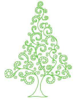 Fun Swirly Tree