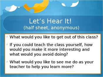 Fun T-Shirt Icebreaker Activity (All Ages!) + Let's Hear It! Student Feedback