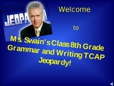 AWESOME TCAP State Testing Grammar Writing Jeopardy Game - 130 Slides
