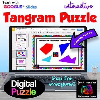 Fun Tangram Puzzle with GOOGLE Slides
