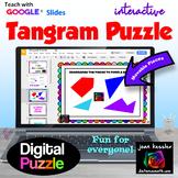 Fun Tangram Puzzle with GOOGLE Slides™