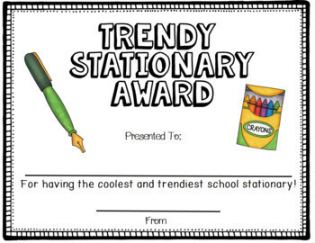 Fun Teacher and Staff Awards End Of Year
