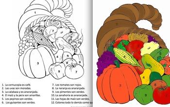 Thanksgiving Fun Pack in Spanish - Elementary