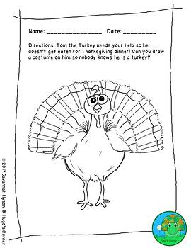Fun Thanksgiving Worksheets NO PREP