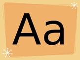 Fun Themed Alphabet