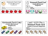 Fun Themed Punch Cards