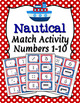 Fun Themes Numbers 1-10 Match Activity Bundle Set 2