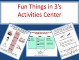 Fun Things in 3's Activities Center