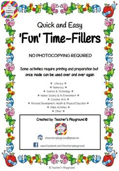 'Fun' Time-Fillers